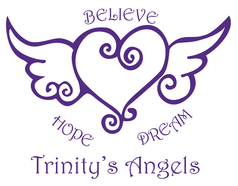 So without further delay here is trinity s angels logo